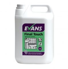 Evans Final Touch Washroom Sanitiser 5 Litre Janitorial Supplies