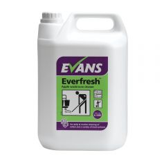 Evans Everfresh Apple Washroom Cleaner 5 Litre Janitorial Supplies
