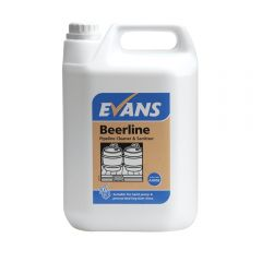Evans Beerline Pipeline Cleaner & Sanitise 5 Litre Janitorial Supplies