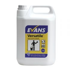 Evans Versatile Hard Surface Cleaner 5 Litre Janitorial Supplies