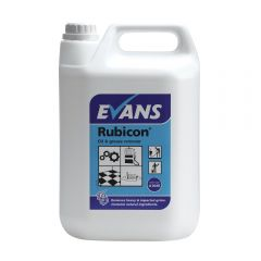 Evans Rubicon Rubicon Oil & Grease Remover 5 Litre Janitorial Supplies