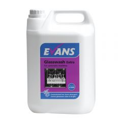 Evans Glasswash Extra 5 Litre Janitorial Supplies