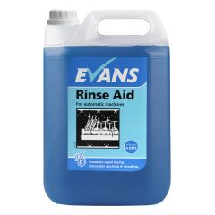 Evans Rinse Aid Automatic Machines 5 Litre Janitorial Supplies