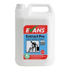 Evans Extract Pro Carpet & Upholstery Shampoo 5 Litre Janitorial Supplies