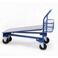 Standard Heavy Duty Nesting Cash and Carry Trolley Janitorial Supplies