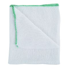 Green Bleached Dishcloths Janitorial Supplies