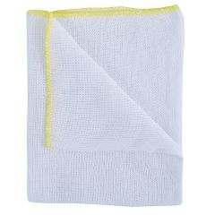 Yellow Bleached Dishcloths Janitorial Supplies
