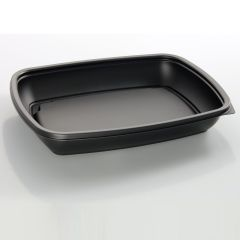Sabert Rectangular Microwavable Container 600ml Janitorial Supplies