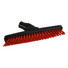 "Grout Brush 9"" Red Janitorial Supplies"