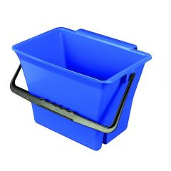 Klingon Bucket with Handle Blue 7 Litre Janitorial Supplies