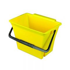 Klingon Bucket with Handle Yellow 7 Litre Janitorial Supplies