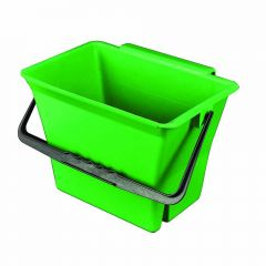 Klingon Bucket with Handle Green 7 Litre Janitorial Supplies