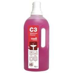 Clover C3 Washroom Cleaner & Descaler 1 Li Janitorial Supplies