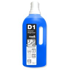 Clover D1 Cleaner & Degreaser 1 Litre Janitorial Supplies