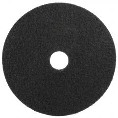 "3M Scotch-Brite Premium Floor Stripping Pads 15"" Black 38cm Janitorial Supplies"