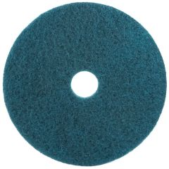 "3M Scotch-Brite Premium Floor Cleaning Pads 15"" Blue 38cm Janitorial Supplies"