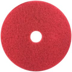 "3M Scotch-Brite Premium Floor Buffing Pads 15"" Red 38cm Janitorial Supplies"
