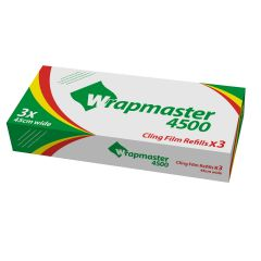 Wrapmaster Catering Cling Film Refill 45cm Janitorial Supplies
