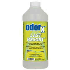 OdorX Last Resort Ultra Concentrated Neutraliser 1 Litre Janitorial Supplies