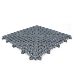 Leisure Safety Mat PVC 30 x 30cm Grey Janitorial Supplies