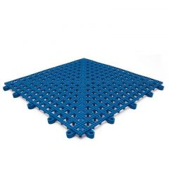 Leisure Safety Mat PVC 30 x 30cm Blue Janitorial Supplies