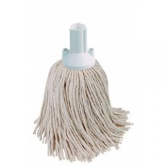 Mop Head Exel PY 250g White Janitorial Supplies
