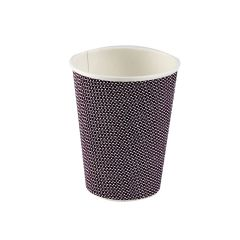 Premium Exclusive Black Ripple Paper Cup 12oz 355ml Janitorial Supplies