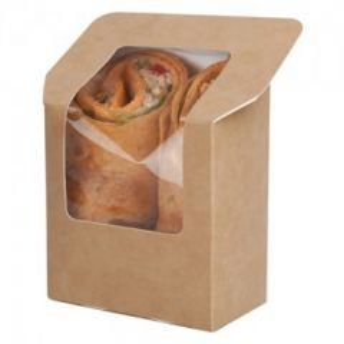 Heat-seal Tortilla Pack Kraft 12cm