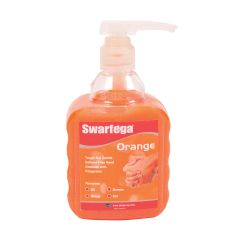 Swarfega Orange Hand Cleaner Pump 450ml Janitorial Supplies