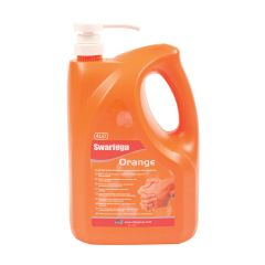 Swarfega Orange Hand Cleaner with Pump 4L Janitorial Supplies