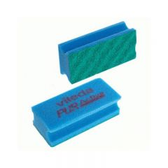 Vileda PurActive Foam Backed Scourer Blue Janitorial Supplies