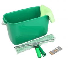 "Contract Window Cleaning Kit 10"" 25cm Janitorial Supplies"