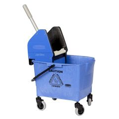 Rubbermaid  25 Litre Kentucky Mop Bucket Blue Janitorial Supplies