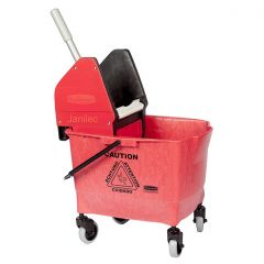 Rubbermaid  25 Litre Kentucky Mop Bucket Red Janitorial Supplies