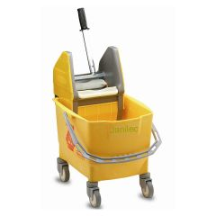 Rubbermaid  25 Litre Kentucky Mop Bucket Yellow Janitorial Supplies