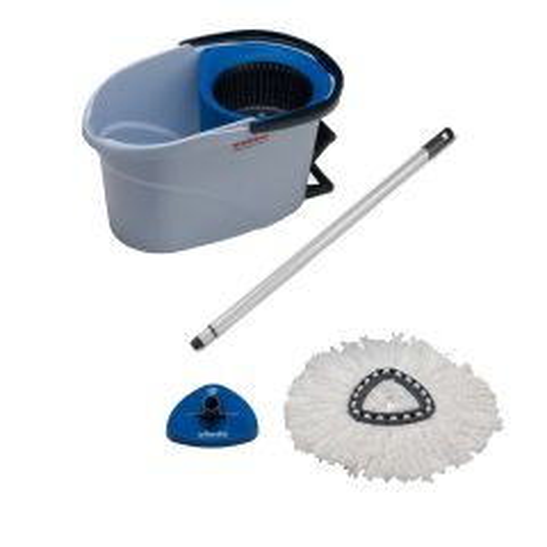 Vileda UltraSpin Starter Pack 10 Litre Blue Janitorial Supplies