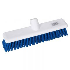 "Broom Head Washable Stiff Blue 12"" 30cm Janitorial Supplies"