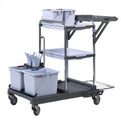 Vileda Origo 100 FX Standard Trolley Kit Janitorial Supplies