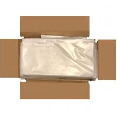 Extra Thick Clear Compactor Refuse Bags Janitorial Supplies