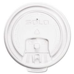 Solo LB3161 Lock Back Paper Cup Lid 12oz Janitorial Supplies