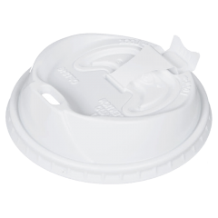 Dart Optima White Paper Cup Lid 20oz Janitorial Supplies