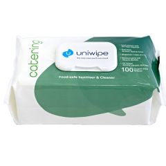 Uniwipe Catering Santising Wipes Janitorial Supplies