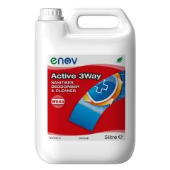 W043 3 in 1 Washroom Cleaner 5 Litre Janitorial Supplies