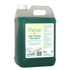 Velvet Hair & Body Shampoo 5 Litre Janitorial Supplies