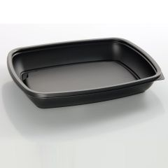 Sabert Rectangular Microwavable Container 900ml Janitorial Supplies