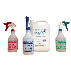 OdorBac Tec4 Odour Eliminator & Cleaner Fresh Linen Kit Janitorial Supplies