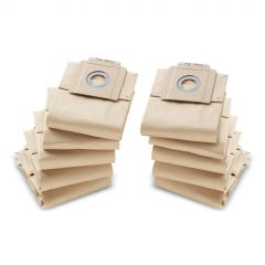 Karcher Filter Paper Vacuum Bags T7 and T10 Janitorial Supplies