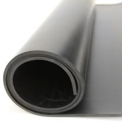 Commercial Black Rubber Matt 1.4m x 3 Milimeter x 3.38 Meter Janitorial Supplies