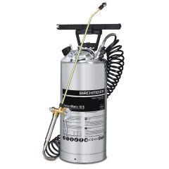 Pump Up Stainless Steel Pressure Sprayer 10 Litre Janitorial Supplies