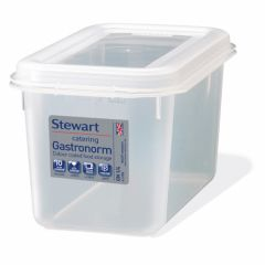 Rectangular Polypropylene Container & Lids 4 Litre Janitorial Supplies